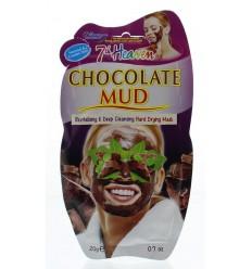 Montagne 7th Heaven gezichtsmasker chocolate mud 20 gram | € 1.54 | Superfoodstore.nl