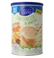 Weightcare Havershake honing/vanille 440 gram |