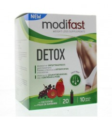 Modifast Detox cactusvijg flacon 20 stuks | € 38.68 | Superfoodstore.nl