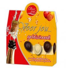 Voor Jou! Cadeau doos gefeliciteerd 100 gram | Superfoodstore.nl