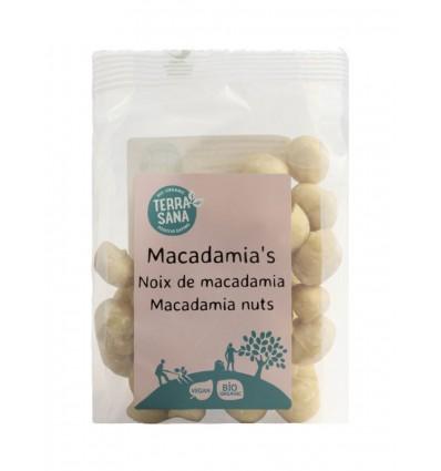 Terrasana RAW Macadamianoten gepeld 100 gram | Superfoodstore.nl
