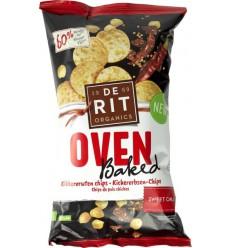 De Rit Kikkererwtenchips ovenbaked sweet chili 75 gram |