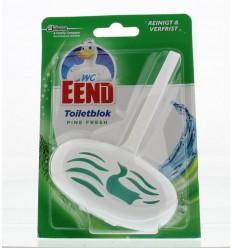 Toiletreinigers & Verfrissers WC Eend Blok pine fresh 40 gram