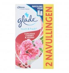 Glade BY Brise Touch & fresh navul cherry 10 ml 2 stuks | € 3.65 | Superfoodstore.nl
