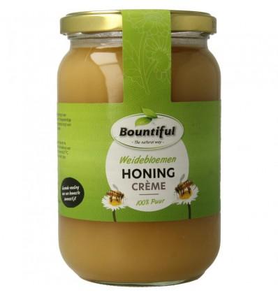 Bountiful Weidebloemen honing creme 900 gram | Superfoodstore.nl