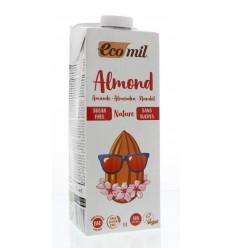 Ecomil Amandeldrank naturel suiker vrij 1 liter | € 3.02 | Superfoodstore.nl