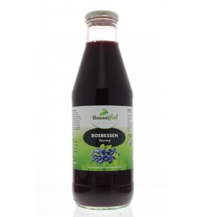 Bountiful Bosbessensap 750 ml | € 7.25 | Superfoodstore.nl