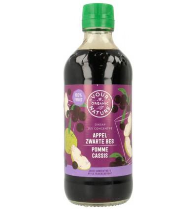Diksap Your Organic Nature appel zwarte bes 400 ml kopen