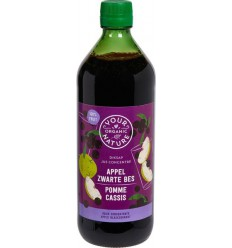 Your Organic Nature Diksap appel zwarte bes 750 ml | € 6.85 | Superfoodstore.nl