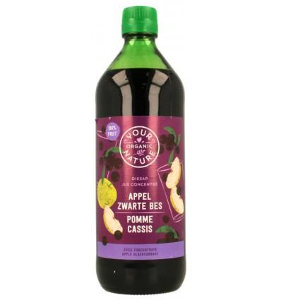 Diksap Your Organic Nature appel zwarte bes 750 ml kopen