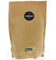 Hanoju Bio cacao bonen 1 kg | Superfoodstore.nl