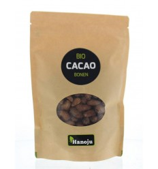 Hanoju Bio cacao bonen 250 gram | Superfoodstore.nl