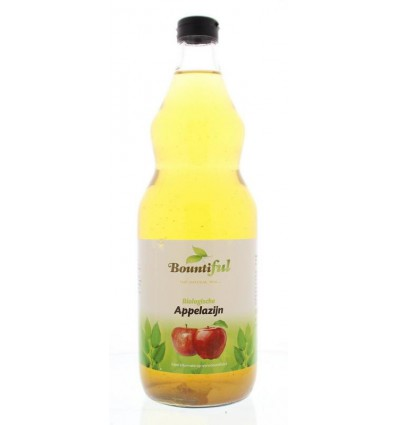 Bountiful Appelazijn bio 1 liter | Superfoodstore.nl