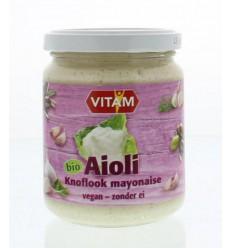 Kruiden & Specerijen Vitam Aioli knoflook mayonaise 225 ml kopen