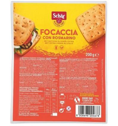 Schär Focaccia 200 gram   Superfoodstore.nl
