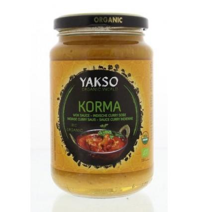 Yakso Roerbaksaus korma 350 gram | Superfoodstore.nl