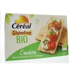 Cereal Cracker rijst kastanje bio 250 gram | Superfoodstore.nl