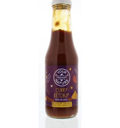 Sauzen Your Organic Nature Curry ketchup 500 gram kopen