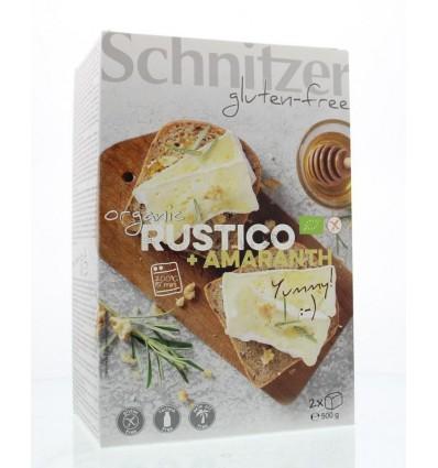 Schnitzer Rustico amaranth 500 gram