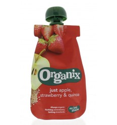 Organix Just apple strawberry quinoa 6-36 maanden 100 gram |
