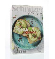 Schnitzer Brood chia & quinoa 500 gram | Superfoodstore.nl