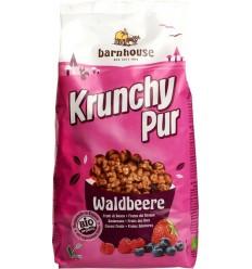 Barnhouse Krunchy pur bosbes 750 gram | Superfoodstore.nl