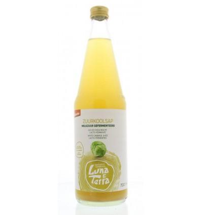 Zuurkoolsap Luna E terra demeter 700 ml kopen