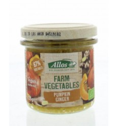 Allos Farm vegetables pompoen & gember 135 gram | € 2.57 | Superfoodstore.nl