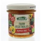 Allos Farm vegetables pepper trio 135 gram
