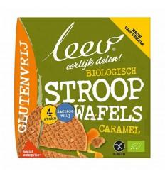 Leev Stroopwafels caramel glutenvrij 120 gram |
