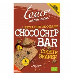 Leev Bio oerrr koek choco-chip & granen 140 gram | € 2.39 | Superfoodstore.nl
