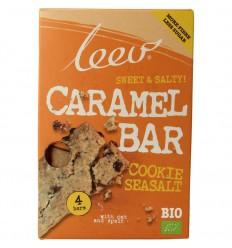 Leev Bio oerrr koek karamel-zeezout & granen 140 gram |