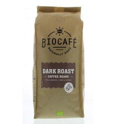 Biocafe Koffiebonen dark roast 500 gram | Superfoodstore.nl
