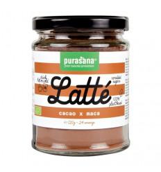 Purasana Cacao mace latte 120 gram | Superfoodstore.nl
