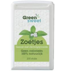 Greensweet Stevia zoetjes 200 stuks | Superfoodstore.nl