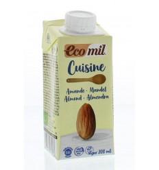 Ecomil Cuisine amandel 200 ml | € 1.39 | Superfoodstore.nl