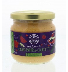 Your Organic Nature Sandwichspread tomaat paprika courgette 180