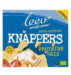 Leev Knappers mais proteine glutenvrij 150 gram |