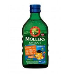 Mollers Levertraan tutti frutti 250 ml | Superfoodstore.nl
