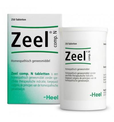 Homeopathie Heel Zeel compositum N 250 tabletten kopen
