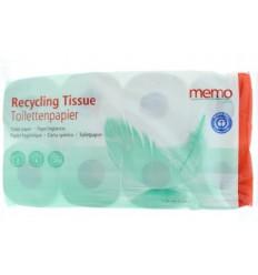 Memo toiletpapier 2 laags | € 4.37 | Superfoodstore.nl
