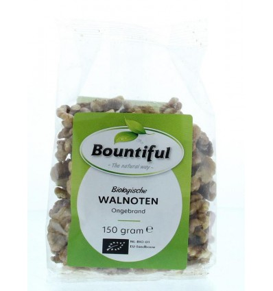Bountiful Walnoten 150 gram | Superfoodstore.nl