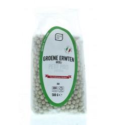 Greenage Groene erwten 500 gram | Superfoodstore.nl
