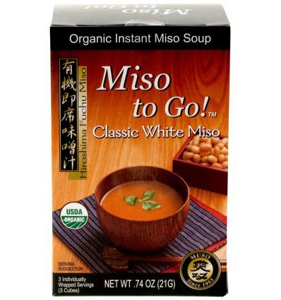 Muso Instant miso cubes classic 21 gram kopen