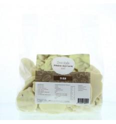 Mijnnatuurwinkel Chocolade pinda rotsen wit 750 gram  