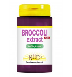 NHP Broccoli 7000 mg puur 60 vcaps | € 28.97 | Superfoodstore.nl