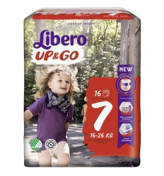 Libero Up & go 7 extra large 16-26 kg 16 stuks |
