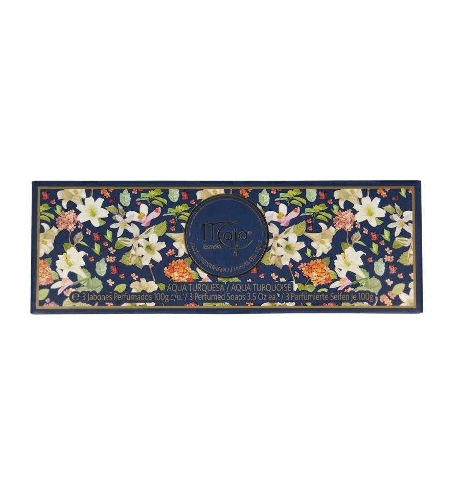 Maja Aqua Turquesa zeep geschenkverpakking 3 x 100g 1 set