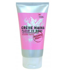 Aleppo Soap Co handcreme roos 75 ml   Superfoodstore.nl