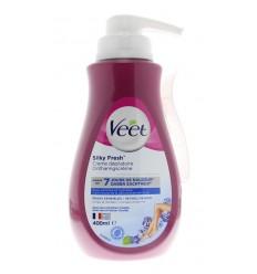 Ontharingsmiddelen Veet Ontharingscreme gevoelige huid pomp 400
